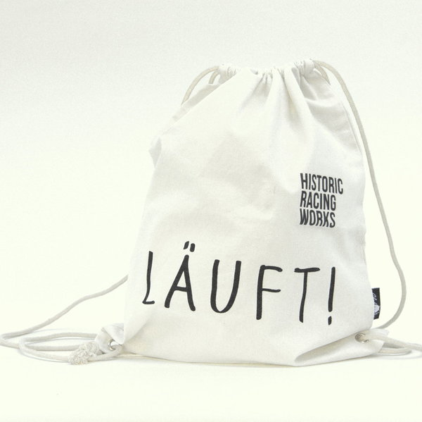 "Gym Bag ""LÄUFT"""