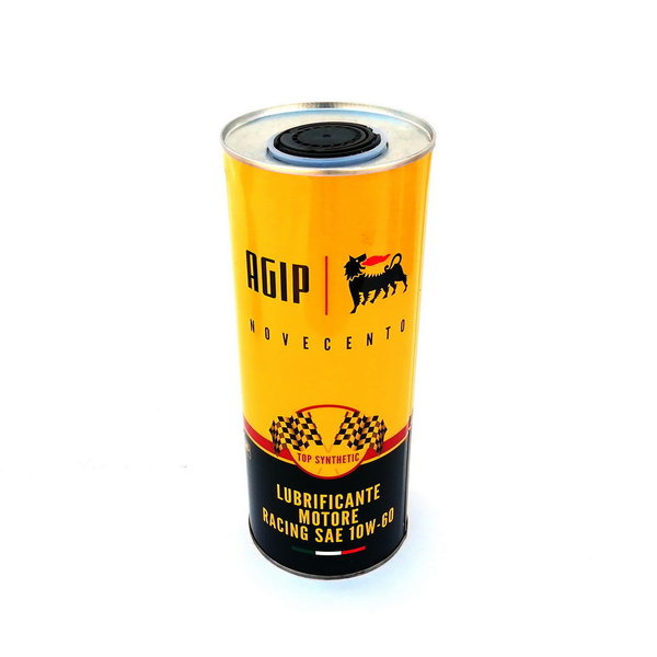 AGIP Novecento racing motor oil 10W-60, 1L tin can