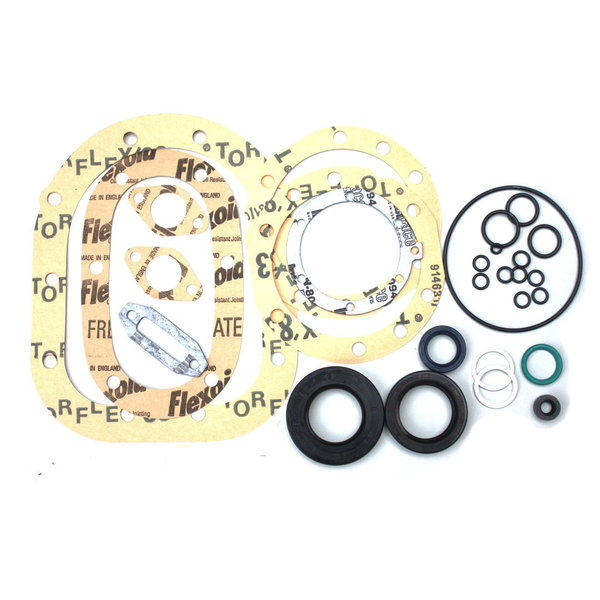 Gearbox gasket set, 4-speed, with oil seals - Flavia