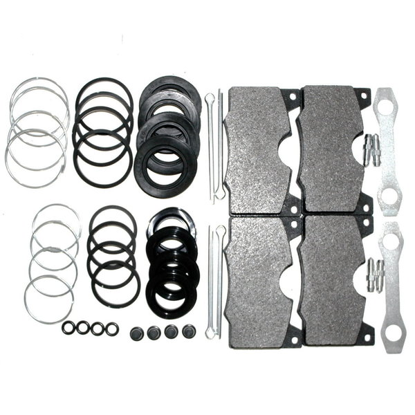 Complete kit brake repair, Girling, front - Lancia 2000