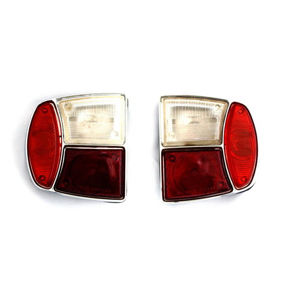 Tail light glasses, pair - Flavia Berlina 1st series