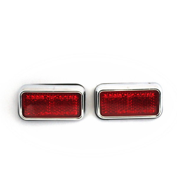 Reflectors, rear, pair - Flavia Berlina 2nd series type 819