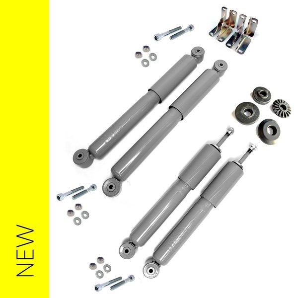 Shock absorber kit, complete front and rear - Fulvia all