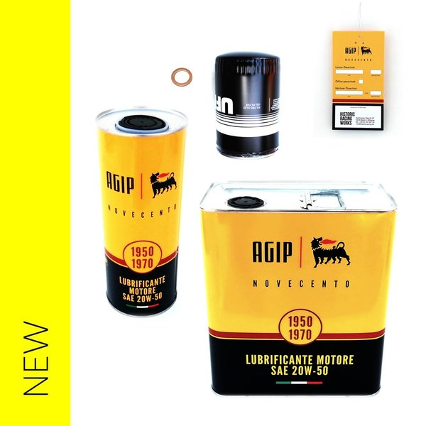 Engine oil inspection package, with oil filter - Fulvia 1.2L - 1.6L